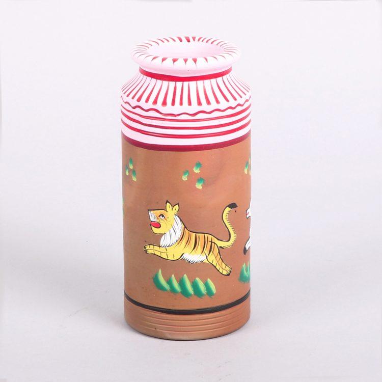 Painted animal decorative vessel | TradeAid