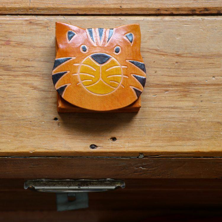 Tiger face coin purse   TradeAid