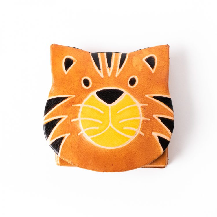 Tiger face coin purse   Gallery 1   TradeAid