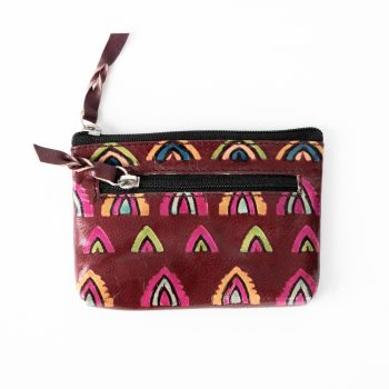 Temple design shanti leather purse | TradeAid