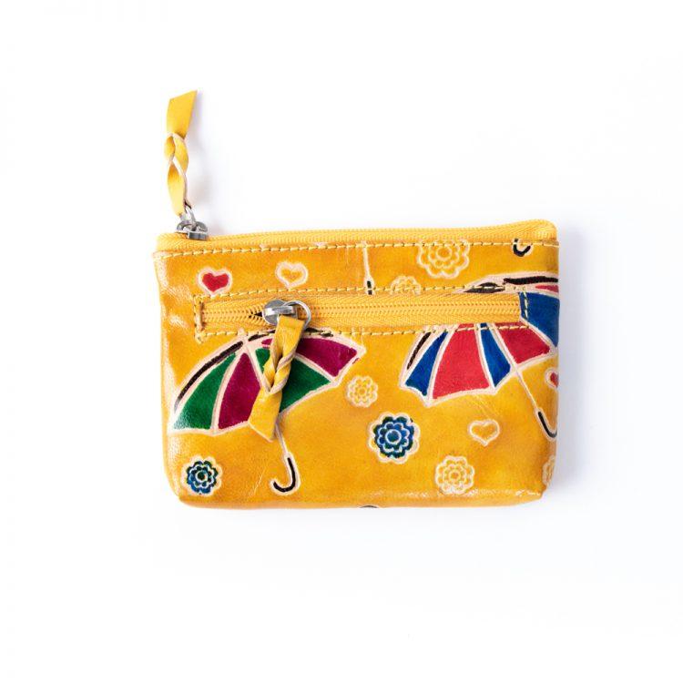 Yellow umbrella purse | TradeAid