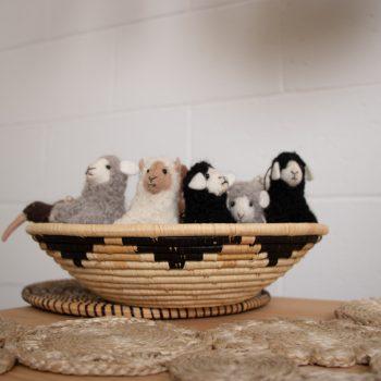 Grey felt sheep | Gallery 2 | TradeAid
