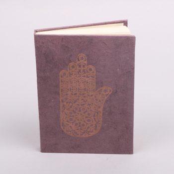 Hamsa print notebook | TradeAid