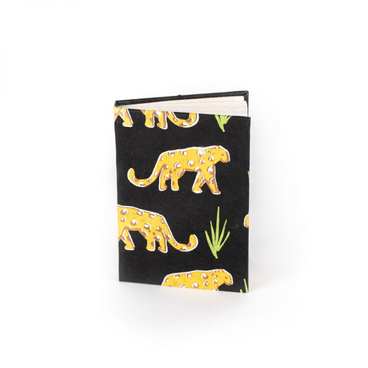 Small leopard notebook   TradeAid