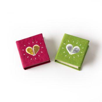 Mini heart notebook | TradeAid