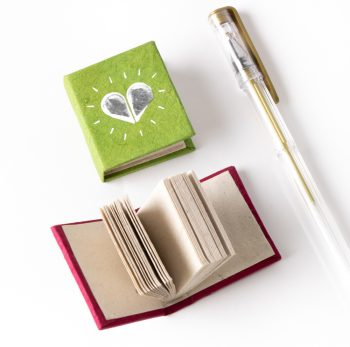 Mini heart notebook | Gallery 2 | TradeAid