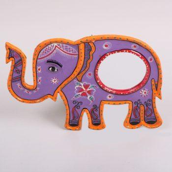Mithila elephant mirror | TradeAid
