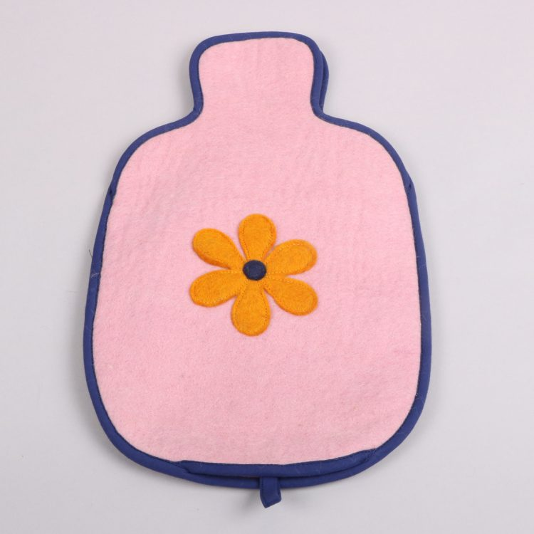 Felt hot water bottle cover | TradeAid