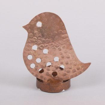 Copper bird tealight holder | TradeAid