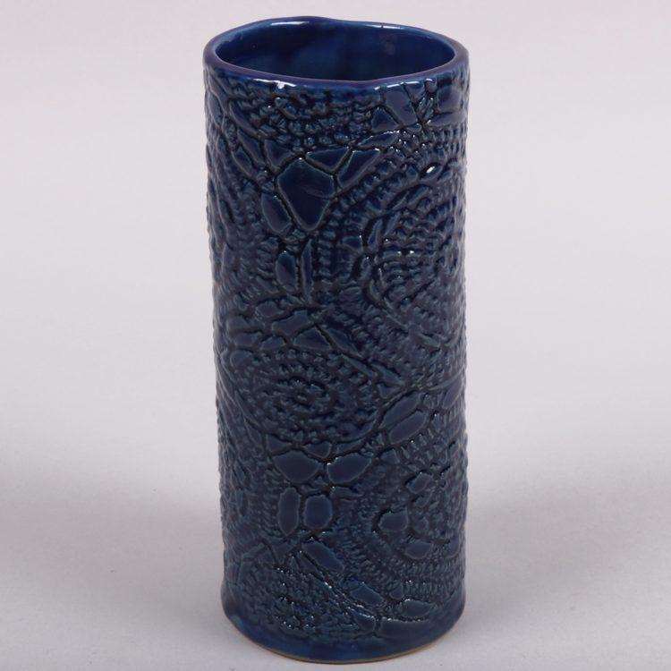 Blue floral vase | Gallery 1 | TradeAid
