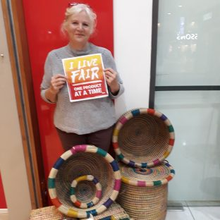 Angenieta loves all Trade Aid baskets and this collection and these are her favourites