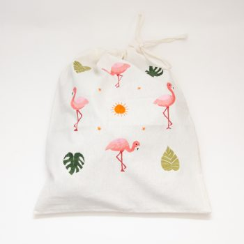 Flamingo drawstring bag | TradeAid