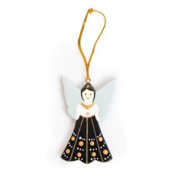 Wooden angel in dress | TradeAid