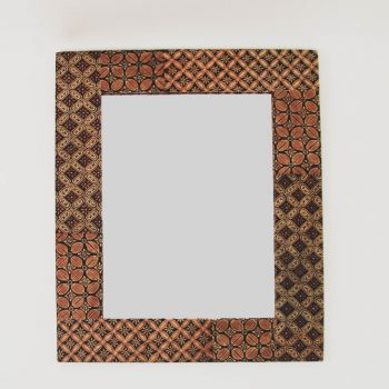 Batik rectangular mirror | TradeAid