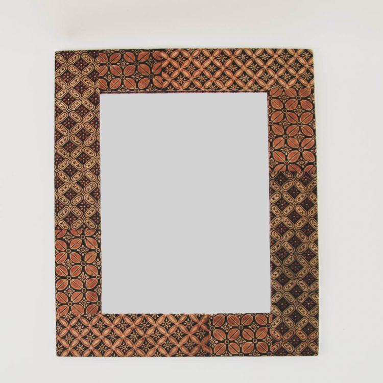 Batik rectangular mirror | TradeAid