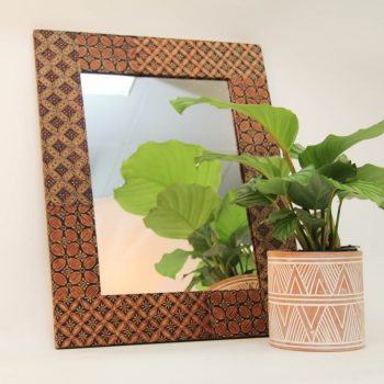 Batik rectangular mirror | Gallery 1 | TradeAid