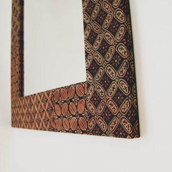 Batik rectangular mirror | Gallery 2 | TradeAid