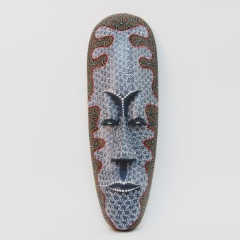 Large wooden traditional indonesian mask | TradeAid