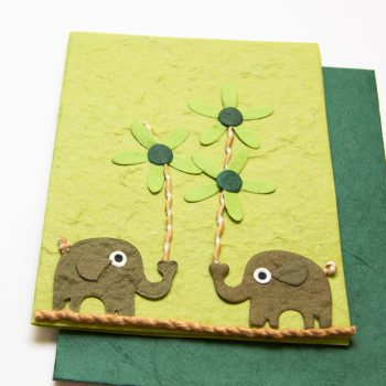 Green elephant card | Gallery 1 | TradeAid