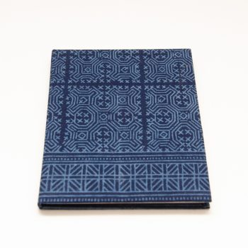 Blue batik notebook | TradeAid