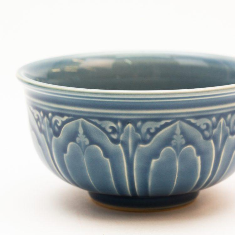 Small blue lotus bowl | Gallery 1 | TradeAid