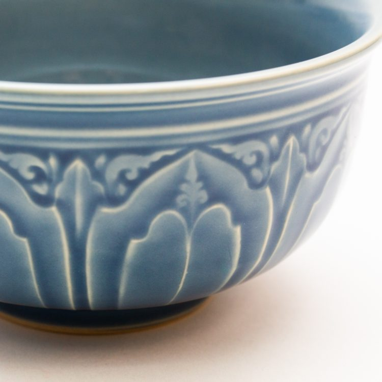 Small blue lotus bowl | Gallery 2 | TradeAid