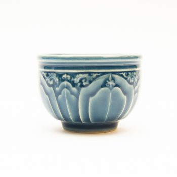 Blue lotus teacup | TradeAid