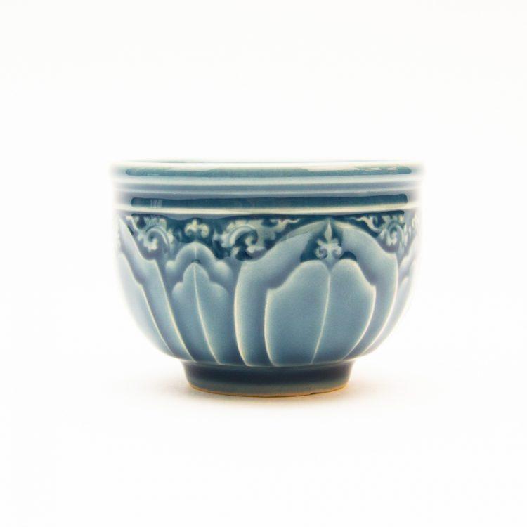 Blue lotus teacup | TradeAid