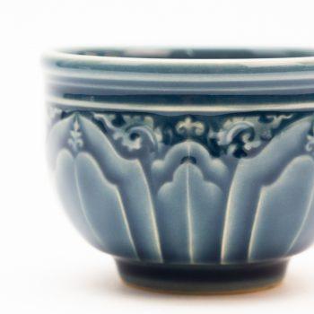Blue lotus teacup | Gallery 2 | TradeAid