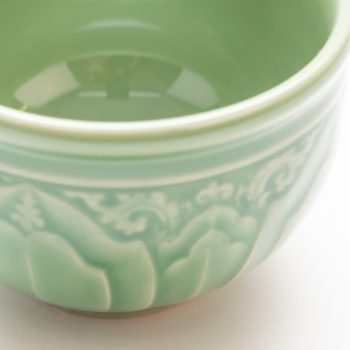 Green lotus teacup | Gallery 1 | TradeAid