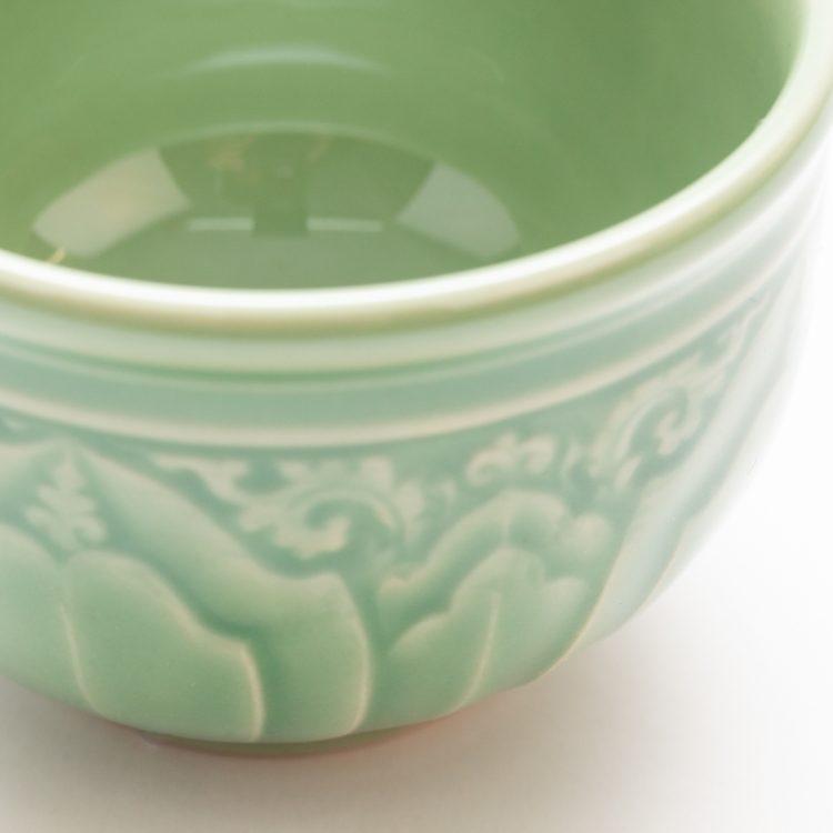 Green lotus teacup | Gallery 1 | TradeAid
