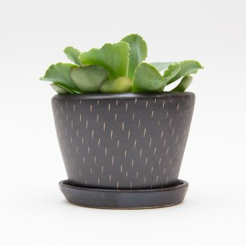 Pewter ceramic planter | TradeAid