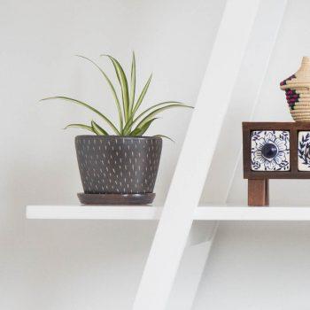 Pewter ceramic planter | TradeAid
