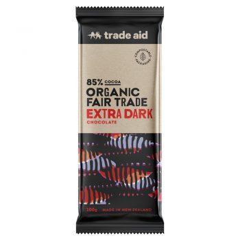 Organic 85% extra dark chocolate – 100g | TradeAid