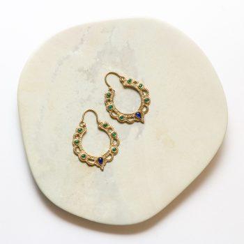 Beaded jali cut earrings | Gallery 1 | TradeAid
