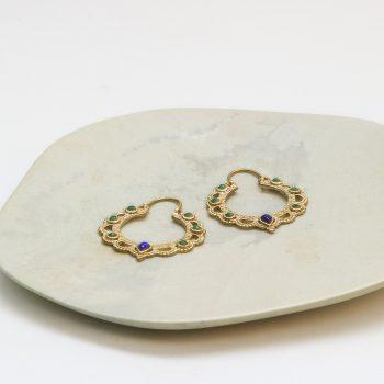 Beaded jali cut earrings | Gallery 2 | TradeAid