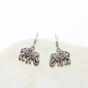 Elephant earrings | Gallery 2 | TradeAid