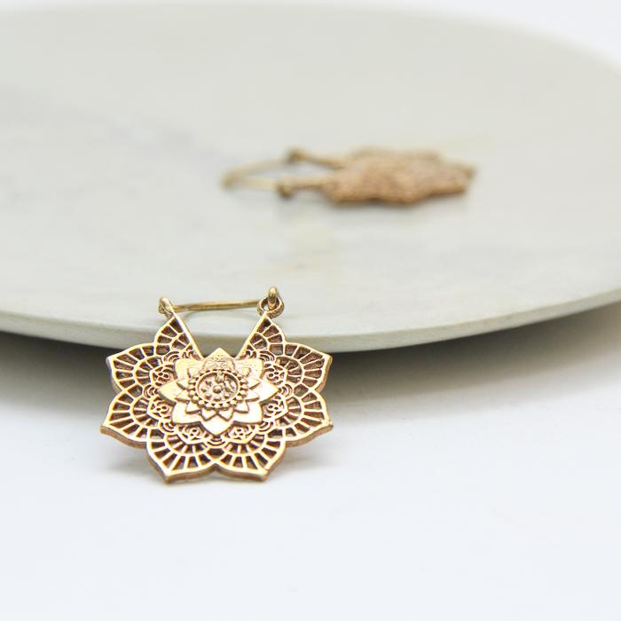 Filigree floral hoop earrings | Gallery 1 | TradeAid