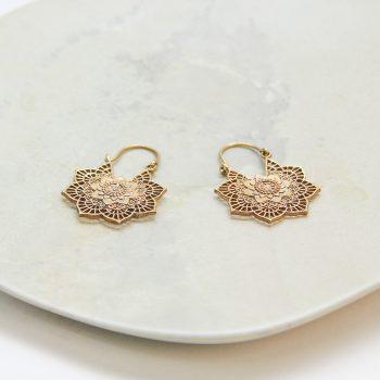 Filigree floral hoop earrings | Gallery 2 | TradeAid
