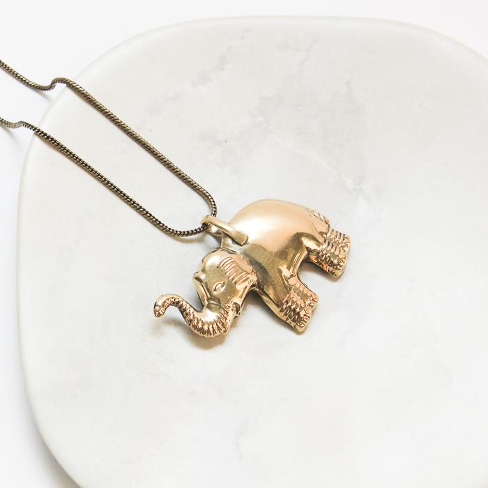 Mosaic elephant necklace | Gallery 2 | TradeAid
