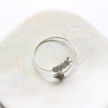Bangle with arrow and leaf ends | Gallery 1 | TradeAid