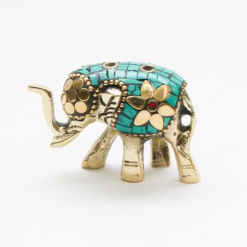 Mosaic elephant incense holder | TradeAid