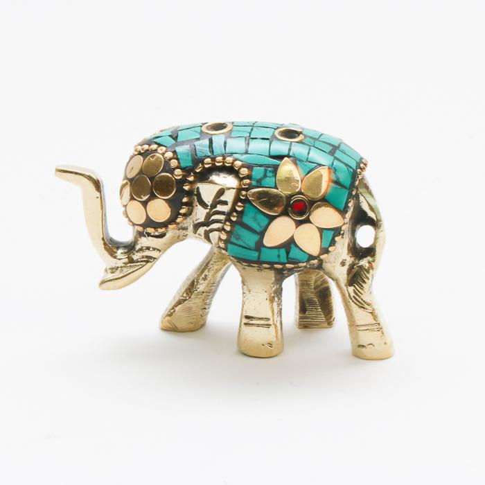 Mosaic elephant incense holder   TradeAid