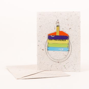 Card with birthday cake slice | Gallery 1 | TradeAid