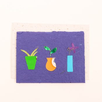 Card with pot plant | TradeAid