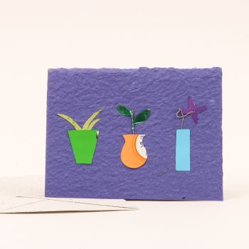 Card with pot plant | Gallery 1 | TradeAid