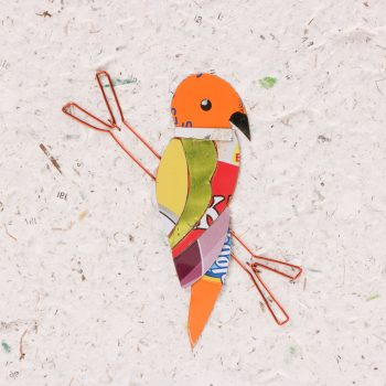 Card with tin parrot | Gallery 2 | TradeAid