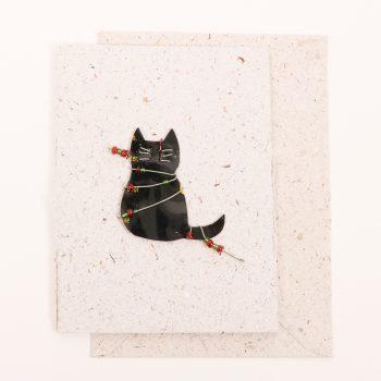 Cat christmas card | TradeAid