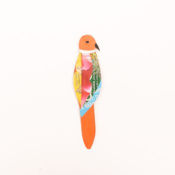 Tin parrot bookmark | TradeAid