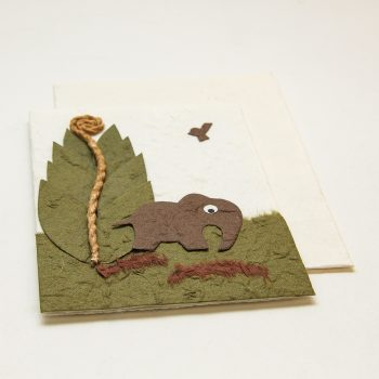 Elephant in park card | Gallery 1 | TradeAid